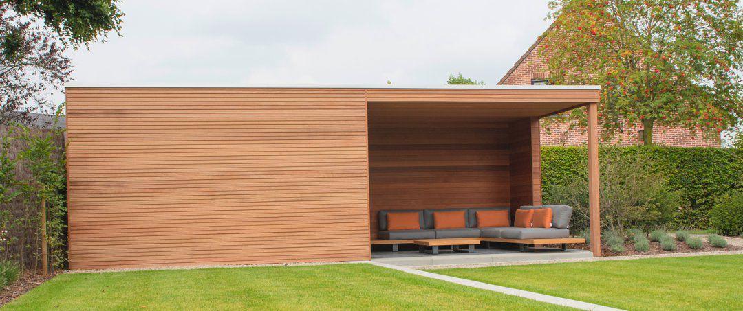 Veranclassic // Abri de jardin moderne en bois cube