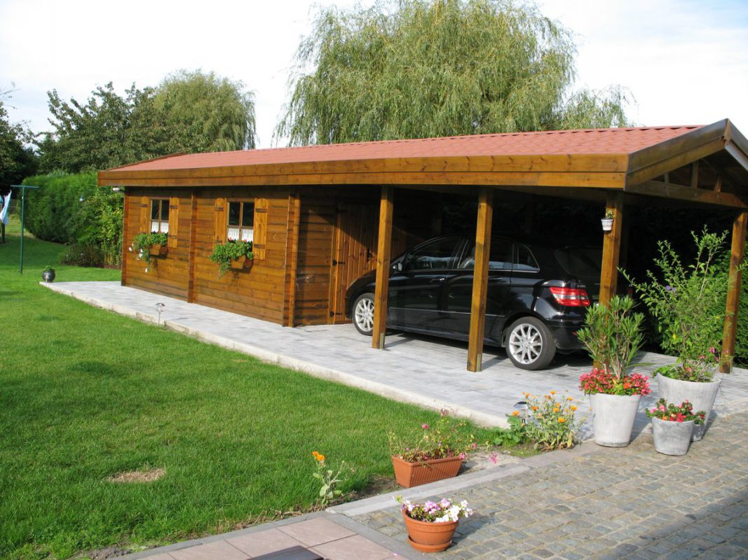 carport bois avec remise abri de jardin avec carport garage bois avec abris abri jardin bois. Black Bedroom Furniture Sets. Home Design Ideas