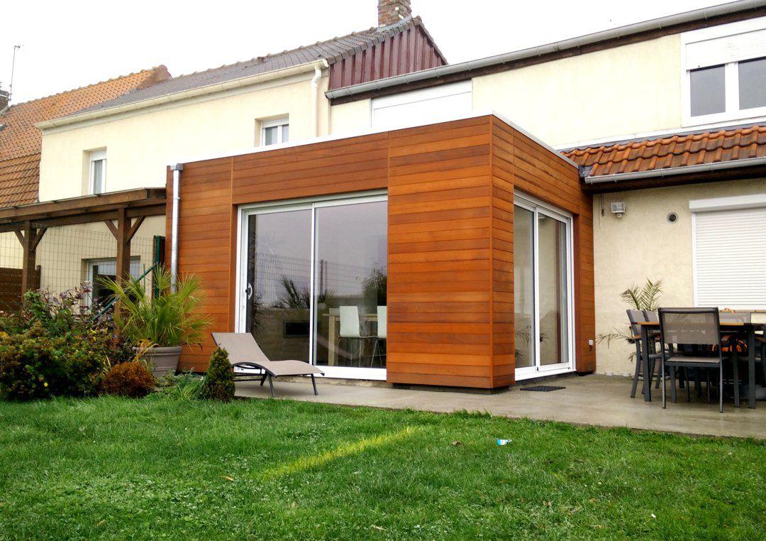 Veranclassic uitbouw veranda in aluminium en hout