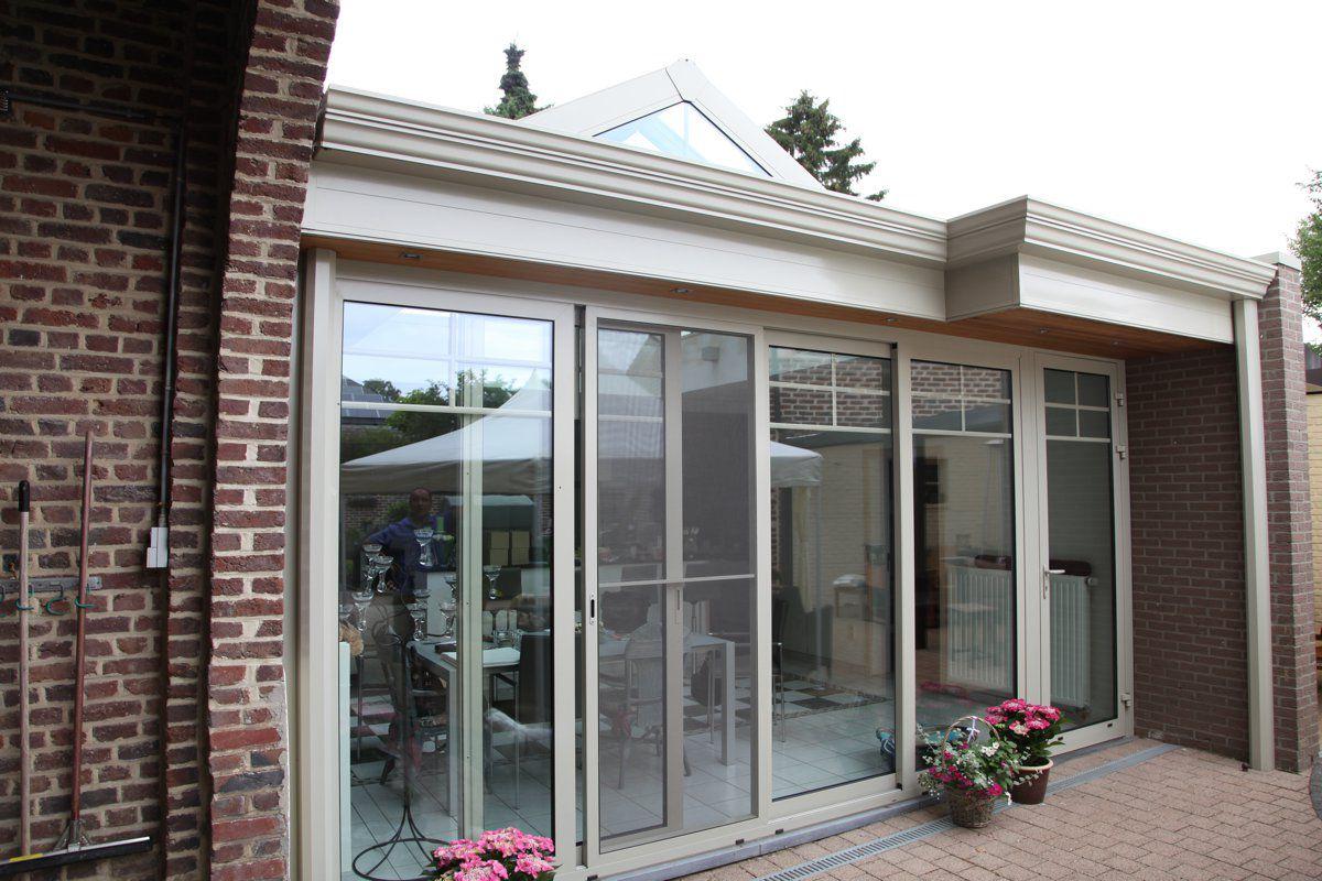 Uitbouw veranda in aluminium veranclassic