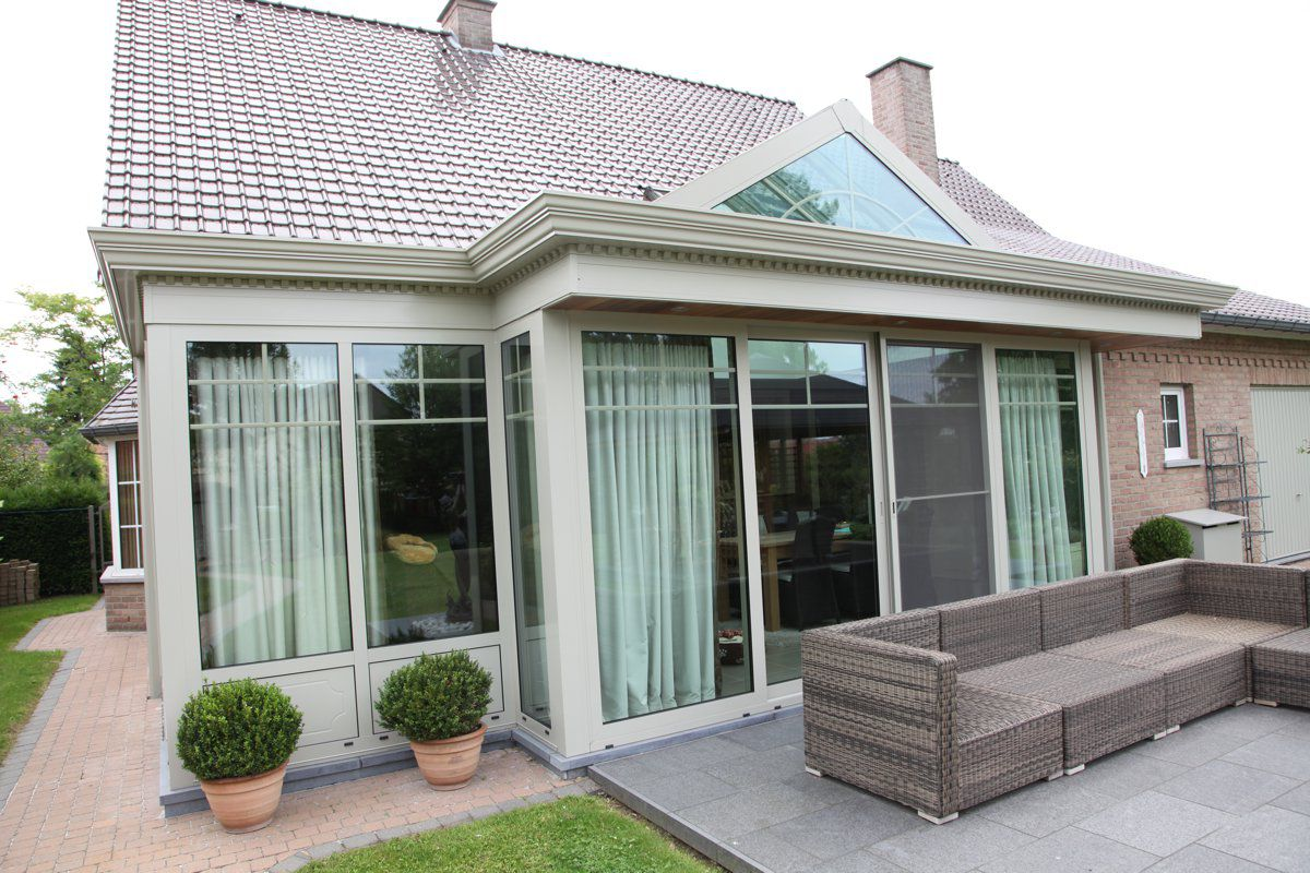Veranclassic uitbouw klassieke veranda in aluminium