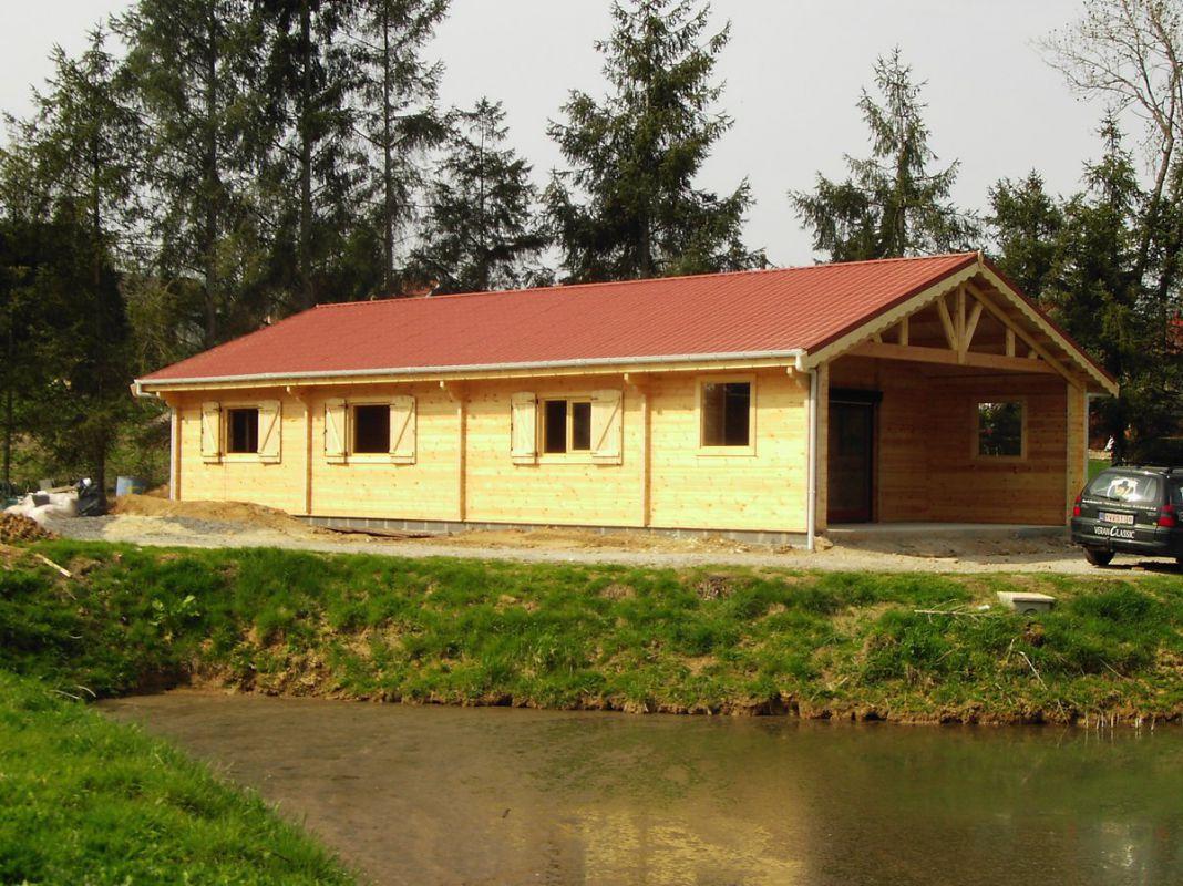 Veranclassic un chalet habitable en bois durable for Chalet en bois solde