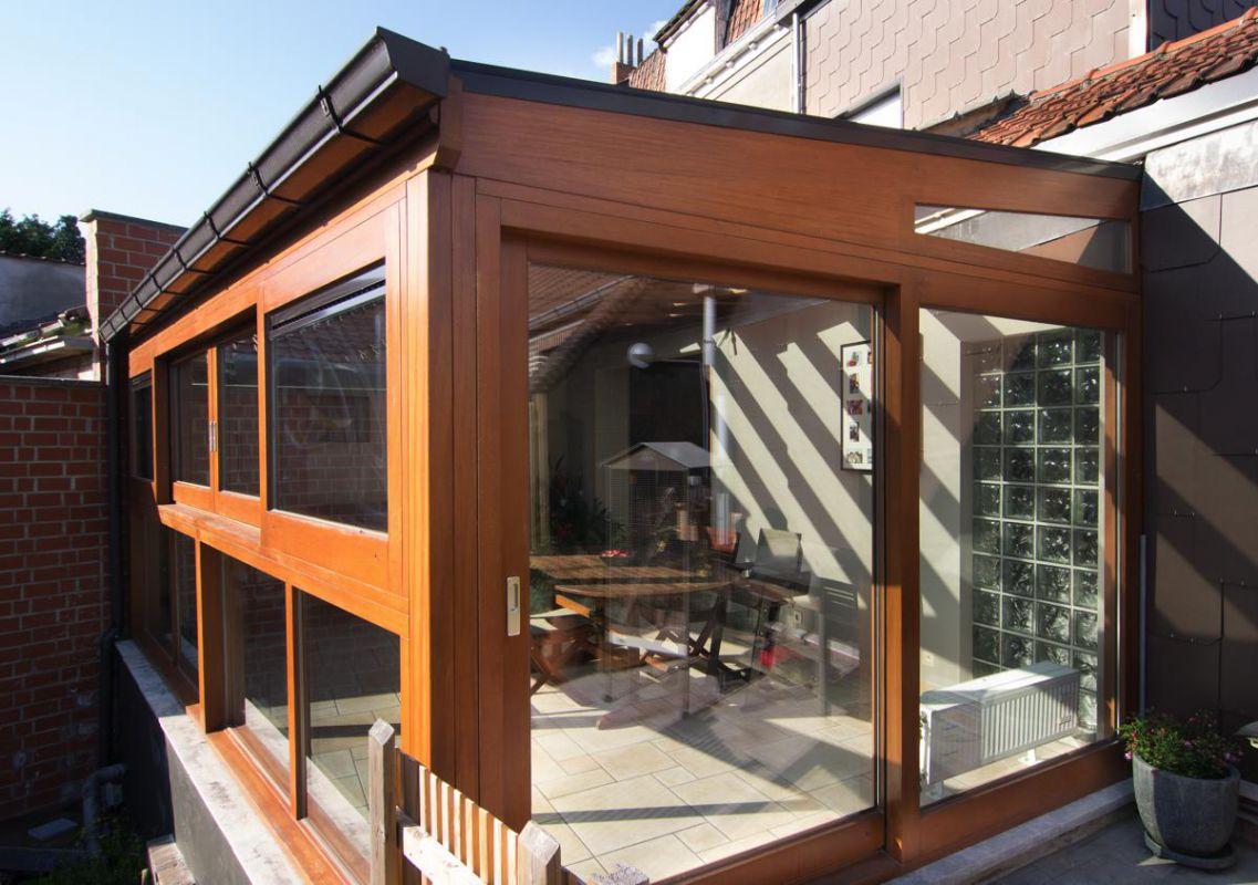 Veranclassic veranda in hout for Houten veranda