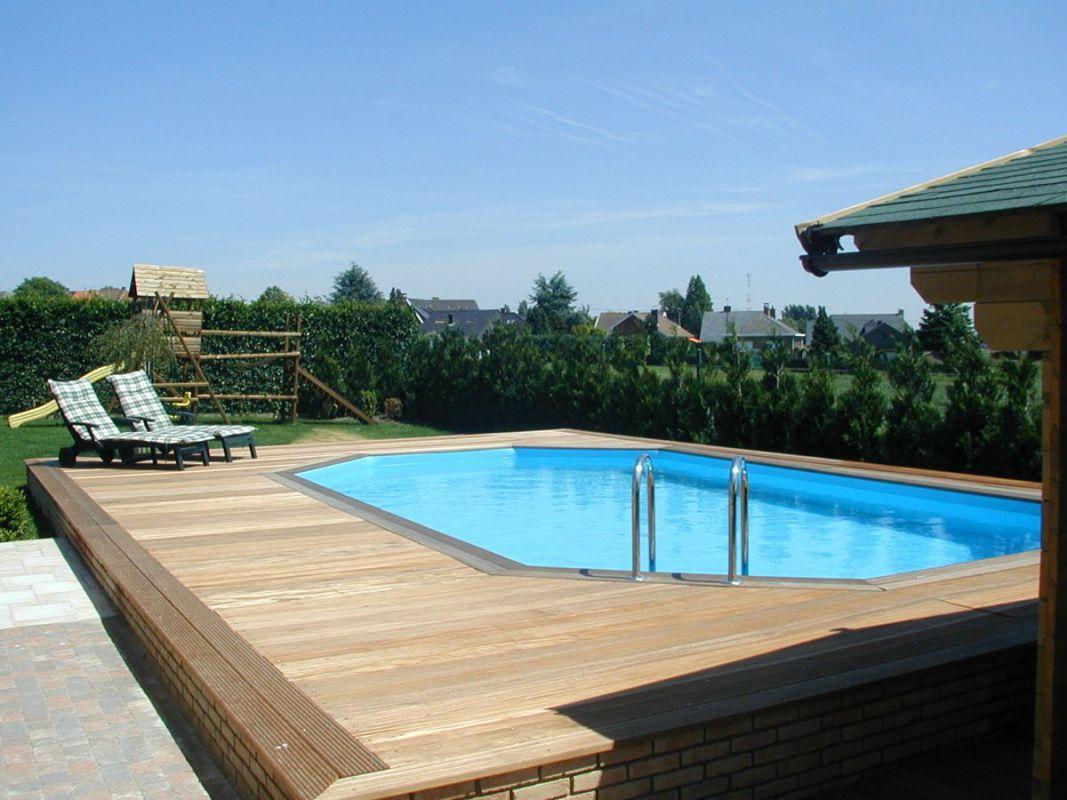 Veranclassic profitez d 39 une piscine en bois - Houten toren zwembad ...