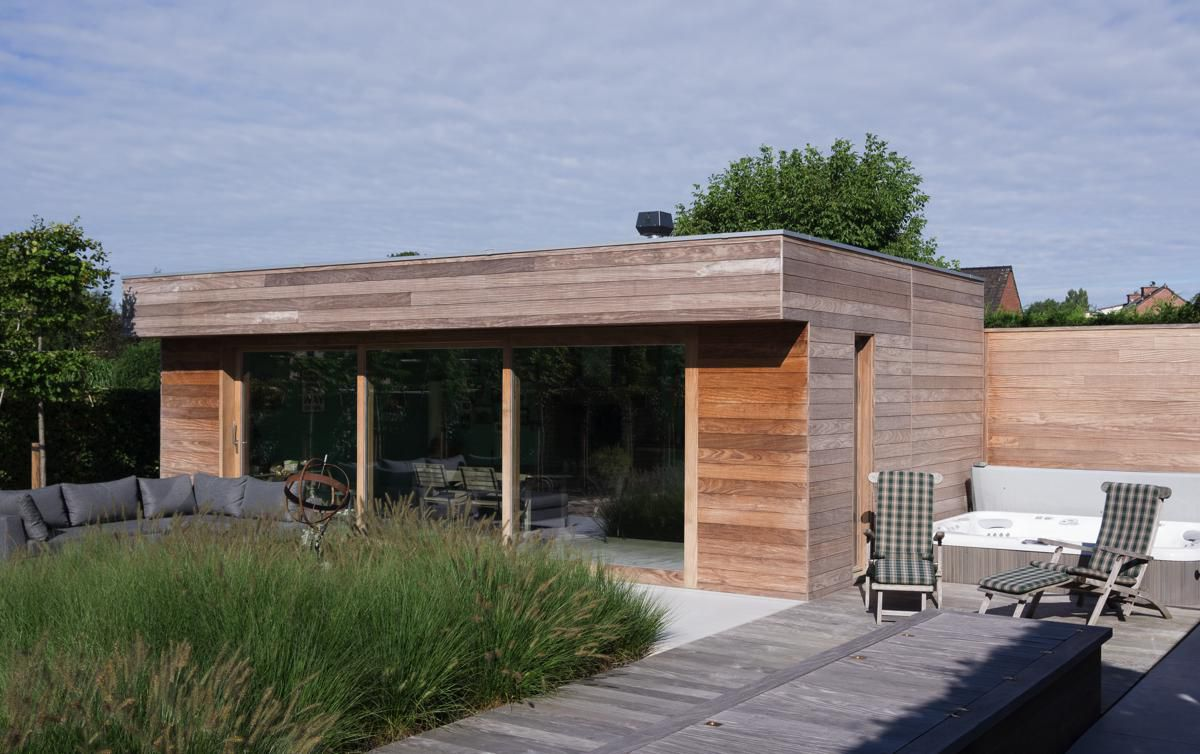 Veranclassic modern poolhouse op maat for Classic house nl