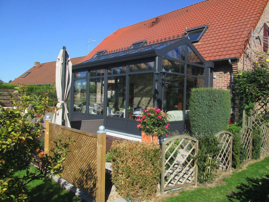 veranclassic aluminium veranda orangerie. Black Bedroom Furniture Sets. Home Design Ideas