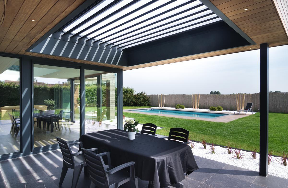 Veranclassic // Extension véranda mixte en bois et aluminium