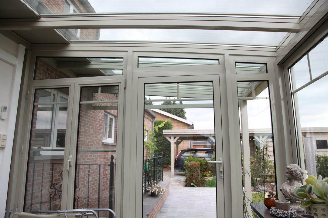 Veranclassic veranda pergola in aluminium - Overdekt terras in aluminium ...