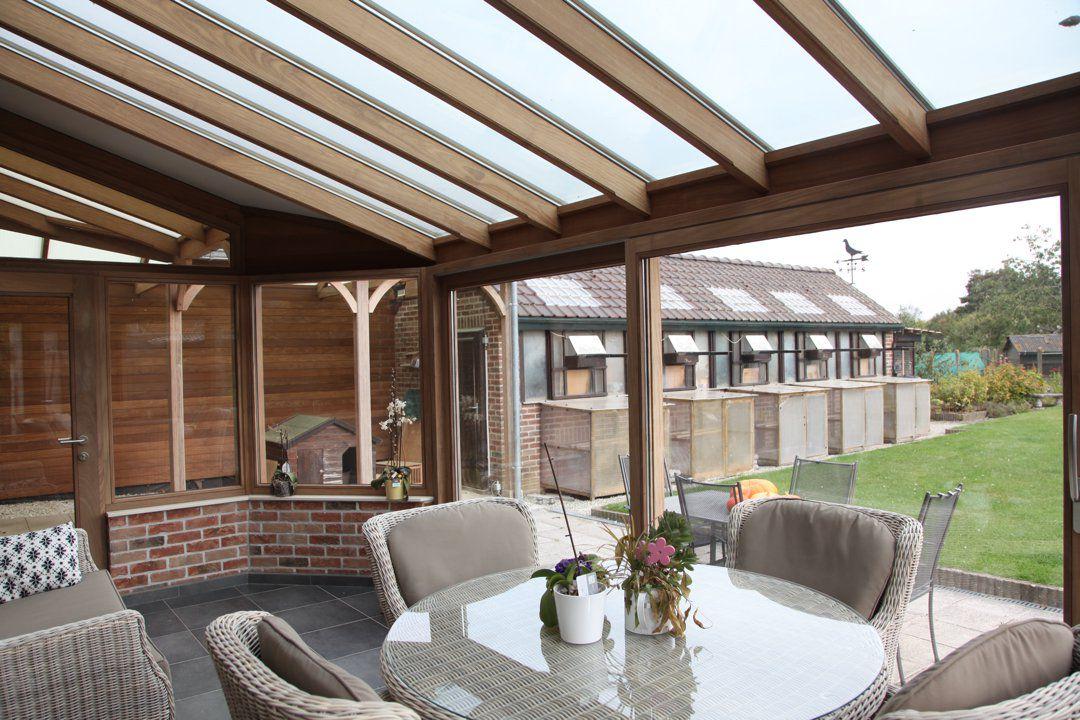 Veranclassic houten veranda pergola - Pergola houten ...
