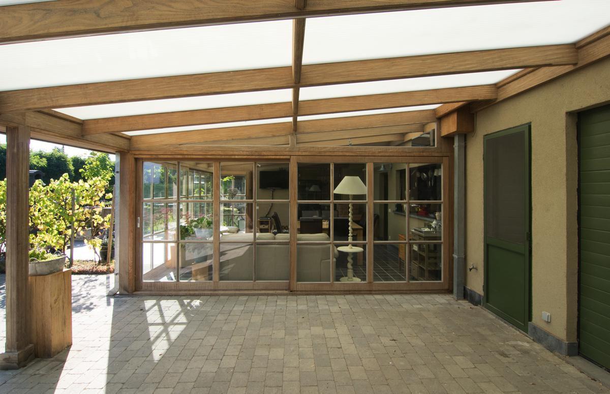 Veranclassic klassieke veranda pergola in hout - Hout pergola dekking ...