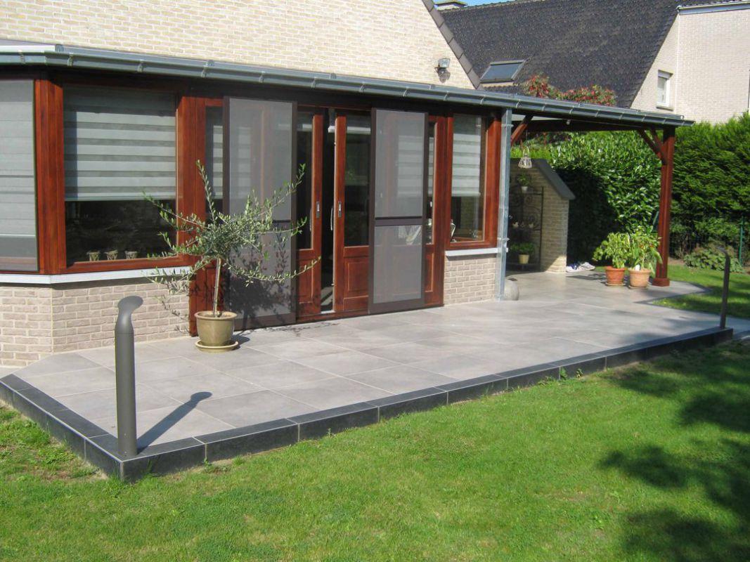 Veranclassic veranda pergola geïntegreerd in het huis